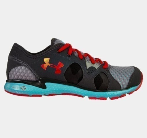 Under Armour Womens Micro G Neo Mantis Running Shoes steel 1