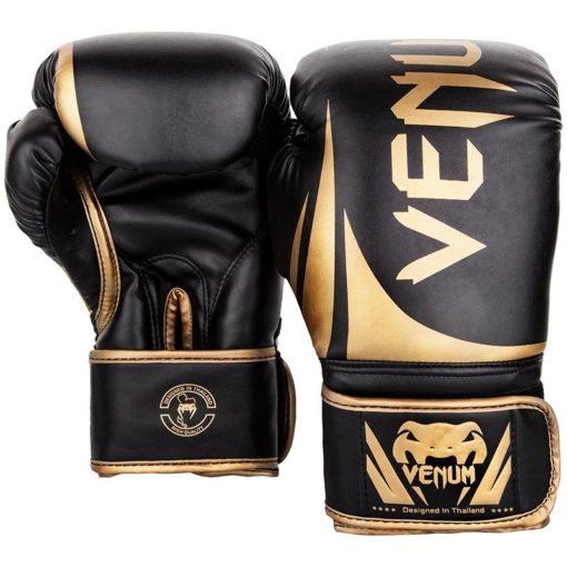 Venum Boxningshandskar Challenger 2.0 svart guld 2
