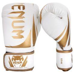 Venum Boxningshandskar Challenger 2.0 vit guld 1