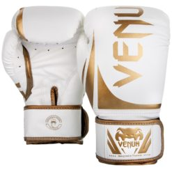 Venum Boxningshandskar Challenger 2.0 vit guld 2