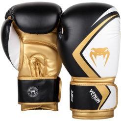 Venum Boxningshandskar Contender 2 0 svart vit guld 2