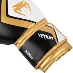 Venum Boxningshandskar Contender 2 0 svart vit guld 3