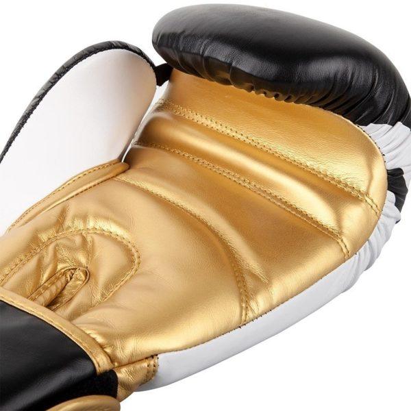 Venum Boxningshandskar Contender 2 0 svart vit guld 4