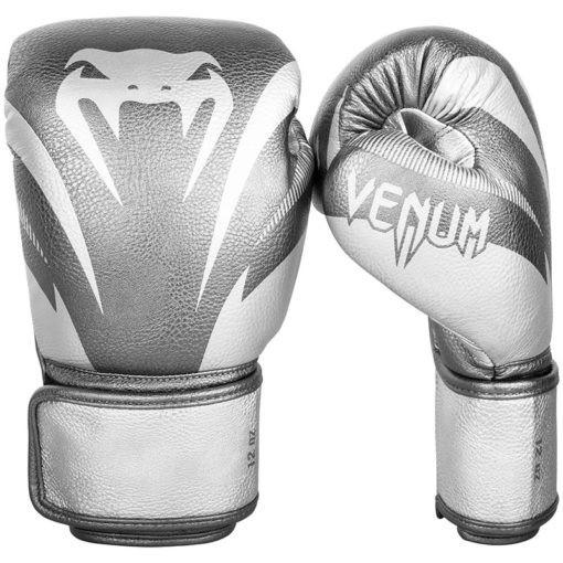 Venum Boxningshandskar Impact silver 1