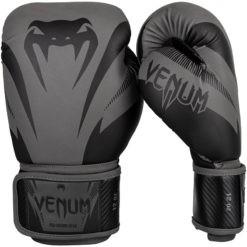 Venum Boxningshandskar Impact svart gra 1