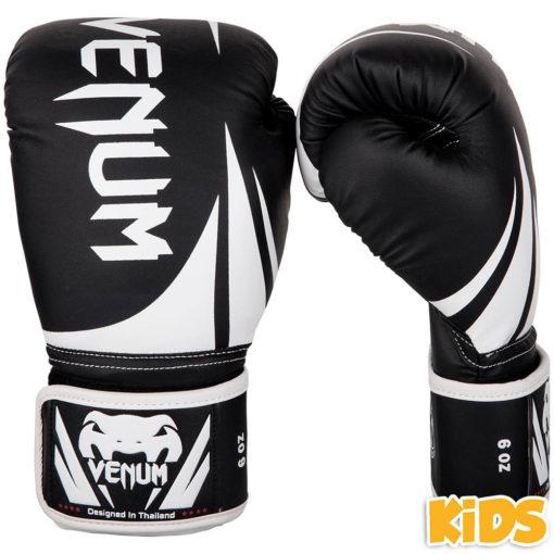 Venum Boxningshandskar Kids Challenger 2.0 svart vit 1