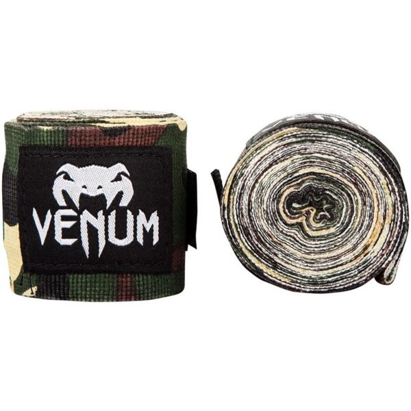 Venum Boxningslindor Kontact camo