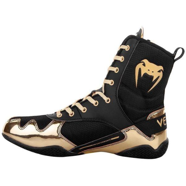 Venum Boxningsskor Elite svart guld 6