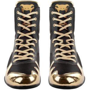 Venum Boxningsskor Elite svart guld 7