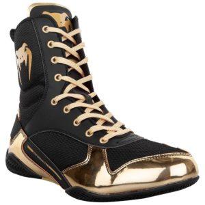 Venum Boxningsskor Elite svart guld 8