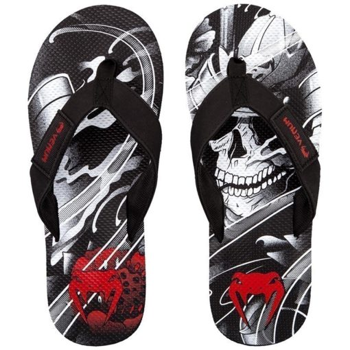 Venum Flip Flops Samurai Skull 1
