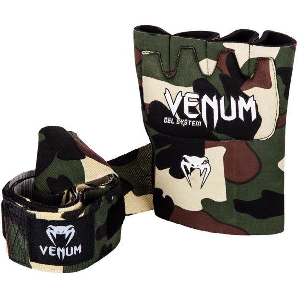 Venum Kontact Gel Glove Wraps camo 2