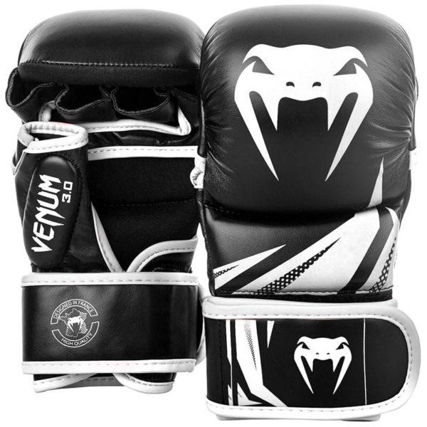 Venum MMA Sparringhandskar Challenger 3 0 svart vit 1
