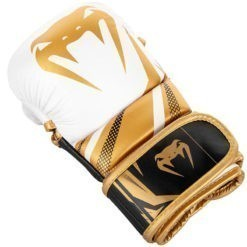 Venum MMA Sparringhandskar Challenger 3 0 vit svart guld 2