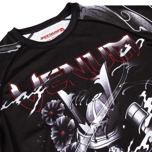 Venum Rashguard Short Sleeve Samurai Skull 5