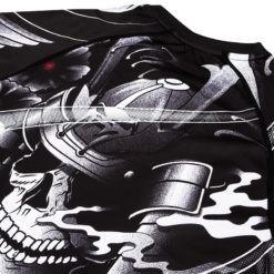 Venum Rashguard Short Sleeve Samurai Skull 6