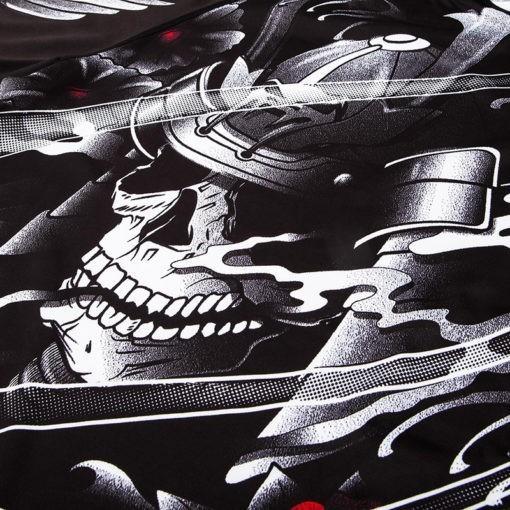 Venum Rashguard Short Sleeve Samurai Skull 7