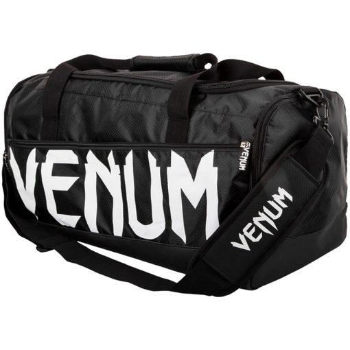 Venum Sparring Sport Bag svart vit 1