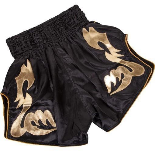 Venum Thaiboxningsshorts Bangkok Inferno svart guld 2