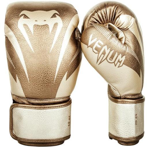Venum Boxningshandskar Impact guld 1