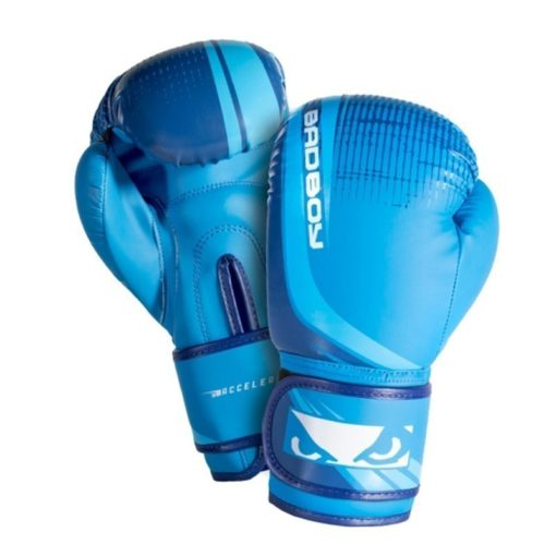 bad boy accelerate youth boxing gloves   blue 3
