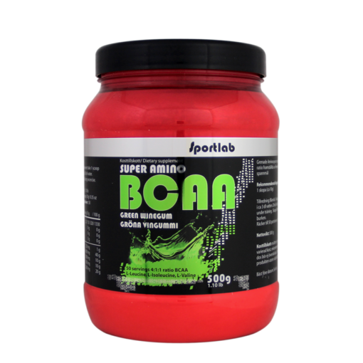bcaa green winegum