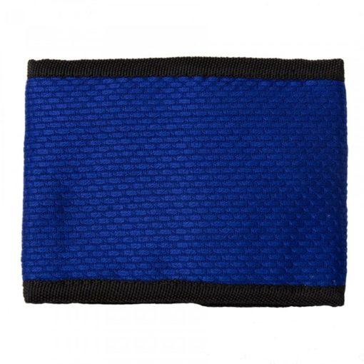 blue wallet back