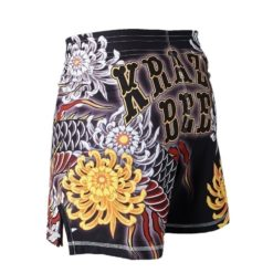 eng pl MANTO X Krazy Bee fight shorts DRAGON black 1217 11