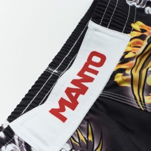 eng pl MANTO X Krazy Bee fight shorts DRAGON black 1217 3