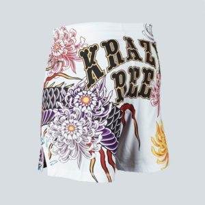 eng pl MANTO X Krazy Bee fight shorts DRAGON white 1218 10