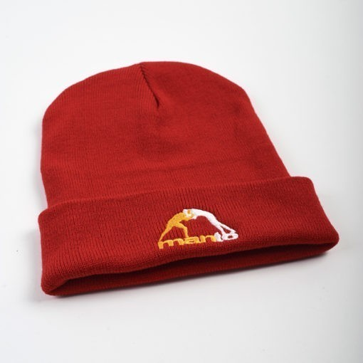 eng pl MANTO beanie CLASSIC red 1150 2