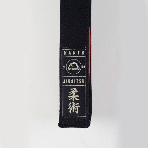eng pl MANTO belt BJJ PREMIUM black 962 2