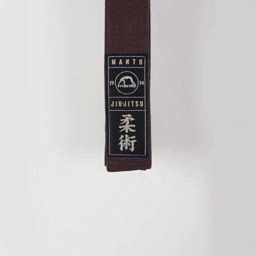 eng pl MANTO belt BJJ PREMIUM brown 961 2