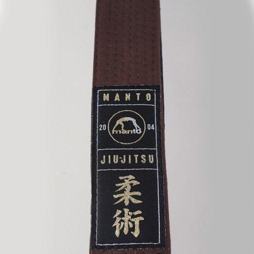 eng pl MANTO belt BJJ PREMIUM brown 961 3