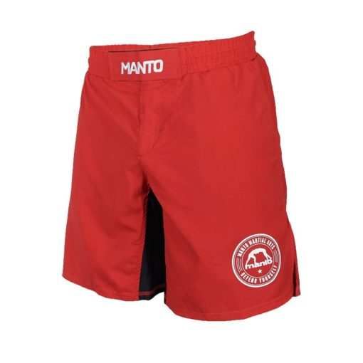 eng pl MANTO fight shorts BASICO red 1199 1