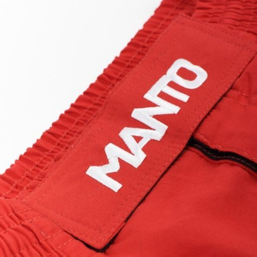eng pl MANTO fight shorts BASICO red 1199 4