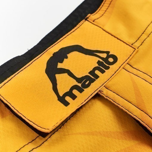eng pl MANTO fight shorts DUAL yellow 1231 6