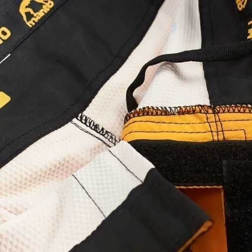 eng pl MANTO fight shorts DUAL yellow 1231 7
