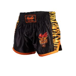 eng pl MANTO fightshorts MUAY THAI TIGER black 1232 7