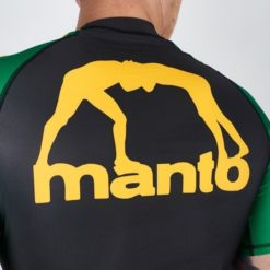 eng pl MANTO short sleeve rashguard ARC black yellow 1325 6