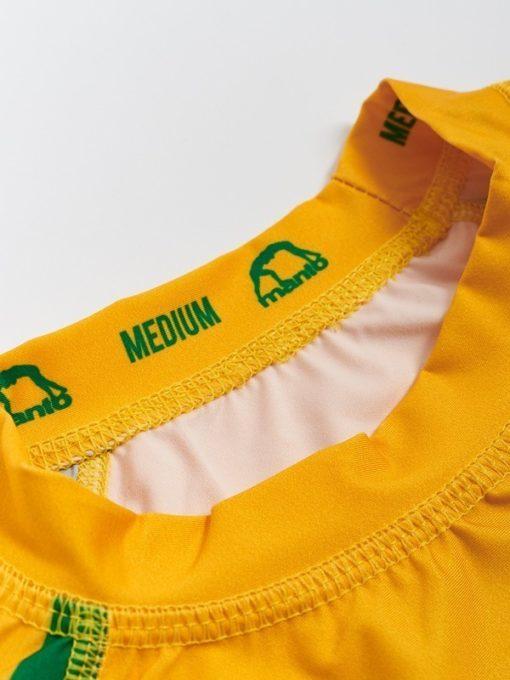 eng pl MANTO short sleeve rashguard ARC yellow 1326 3