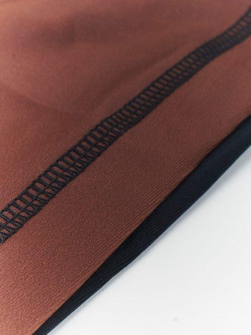 eng pl MANTO short sleeve rashguard CLASSIC brown 1010 1