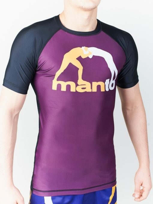 eng pl MANTO short sleeve rashguard CLASSIC purple 1011 5
