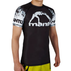 eng pl MANTO short sleeve rashguard MADNESS black 1061 2