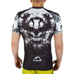 eng pl MANTO short sleeve rashguard MADNESS black 1061 3