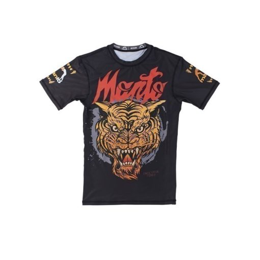 eng pl MANTO short sleeve rashguard TIGER black 974 2