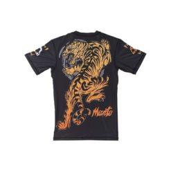 eng pl MANTO short sleeve rashguard TIGER black 974 6