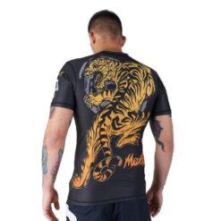 eng pl MANTO short sleeve rashguard TIGER black 974 8