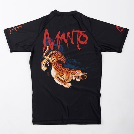 eng pl MANTO short sleeve rashguard WILD black 1185 4