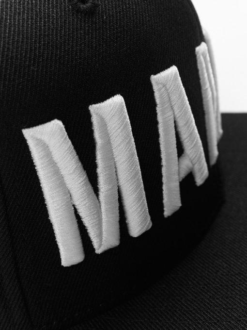 eng pl MANTO snapback cap EAZY 17 black 1252 3